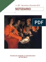 Notiziario 257 - Frati Minori di Lombardia