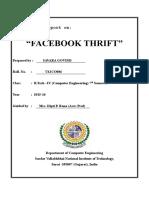 Facebook Thrift