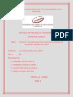 Práctica Nº 03 Equipos y Materiales Utilizados en La Unidad de Nutrición Artificial UNA