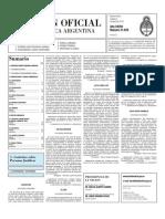 Boletin Oficial 06-04-10 - Segunda Seccion