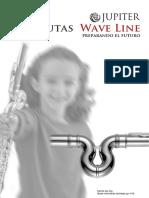 Flauta infantil Jupiter Waveline