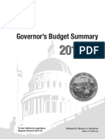 Gov. Brown Budget Proposal 2016-2017