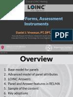 2015 08 11 - LOINC - Panels Forms Assessments