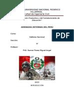 Amenazas Externas Del Peru