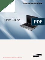 Manual Samsung RV408