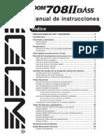 S 708II Manual