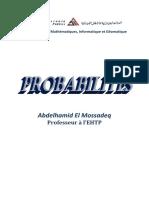 Probabilités 2012