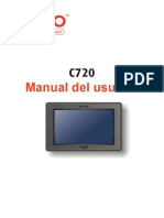 Manual GPS Mio c720