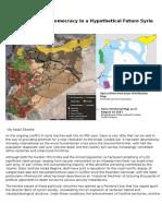 A Hypothetical Democracy in a Hypothetical Future Syria