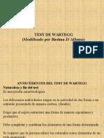 Presentacion Del Test de Wartegg-biedma-d Alfonso
