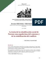 Parsons-Estratificación