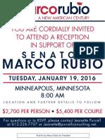 Rubio Invitation
