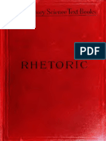 Introduction to the Study of Rhetoric