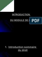 1. Introduction Au Droit