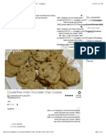 DoubleTree Hotel Chocolate Chip Cookies - Recipe #18302 - Foodgeeks