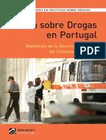Política sobre Drogas en Portugal