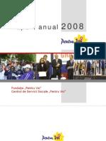 Raport Anual Pentru Voi 2008 RO