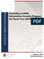 DHS IT AUDIT