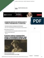 O monstro grotesco em 'Dentro da noite' e 'O bebê de Tarlatana Rosa', de João do Rio.pdf