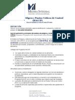 Manual HACCP Mejora Integral