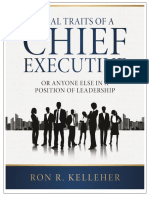 Ideal Traits of a Chief Executive-eBook