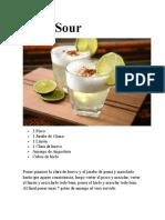 Pisco Sour - Chilcano de Pisco