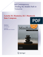 Traditional and Contemporary Mindfulness