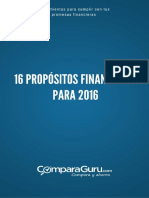 16 Propósitos Financieros para 2016