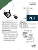 7410L1002 Selador D40 Studio Datasheet RevM