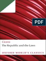 Cicero the Republic the Laws Oxf