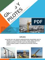 Grúas y Pilotes