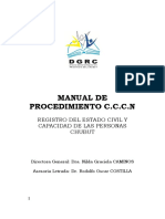 Manual Procedimientos Registros Chubut