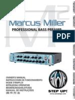 MarcusMiller M2preamp Manual