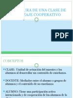 Estructura de Una Clase de Aprendizaje Cooperativo
