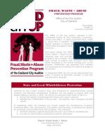 Fwa Report 20091. Volume 01