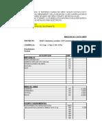 FORMATO costos unitarios