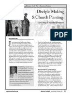 Disciple Making and Church Planting