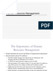 Chapter 9 - Human Resource Management