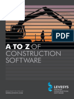 LEVESYS .a-Z Construction Software Guide