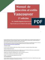 Manual Estilo Vancouver