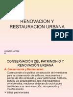 Renovacion y Restauracion Urbana