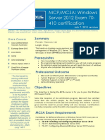 4 - Windows 2012 Exam 70-410