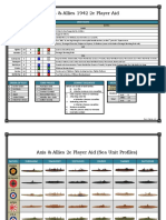 Axis and Allies 1942 2e Player Aid - Sea Profiles (v1)