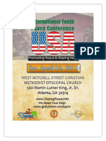 Peace Conference Sponsorship