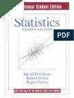 Statistics 4th Edition by David Freedman