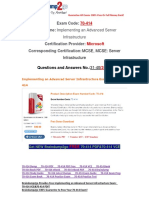 [PDF&VCE]Braindump2go 70-414 Book Free Download 31-40