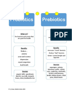 probiotic summary handout