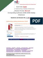[100% PASS]Braindump2go 70-415 eBook Free Download 71-80.pdf