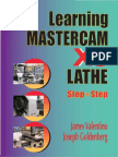 Learning Mastercam X8 Step by Step LATHE