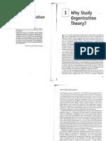 Why study organization theory?